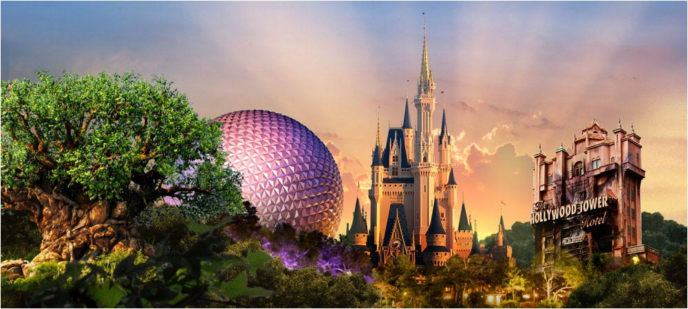 walt disney world icons 1000x450